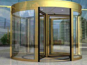 درب اتوماتیک شیشه ای 1